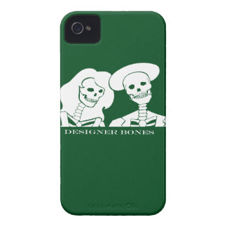 Skeleton Couple White Design iPhone 4 Case