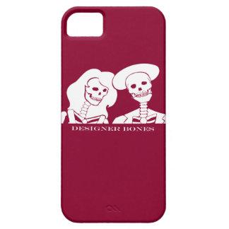 Skeleton Couple White Design iPhone 5 Case