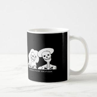 Skeleton Couple White Design Mug