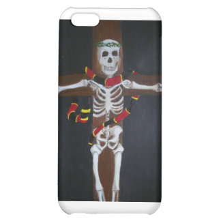 skeleton cross cover for iPhone 5C