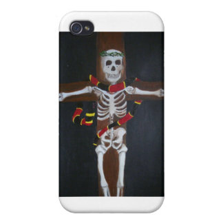 skeleton cross covers for iPhone 4