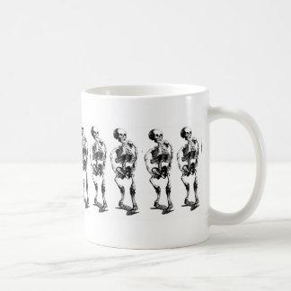 Skeleton Dance Line Mug