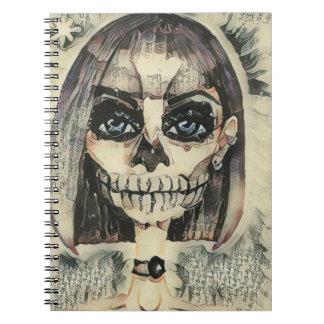 Skeleton Doll Notebook