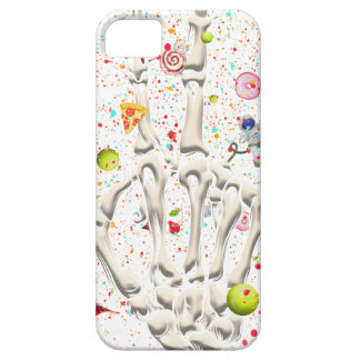 Skeleton Finger Swear Funny Barely There iPhone 5 Case
