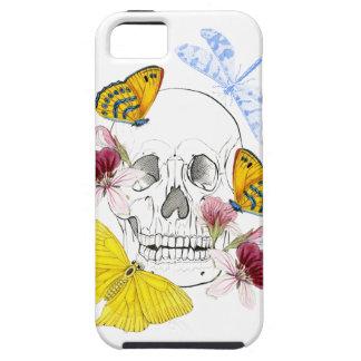 Skeleton Flowers iPhone 5 Covers