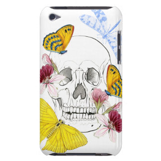 Skeleton Flowers iPod Touch Case