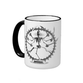 Skeleton Goddess Ringer Mug