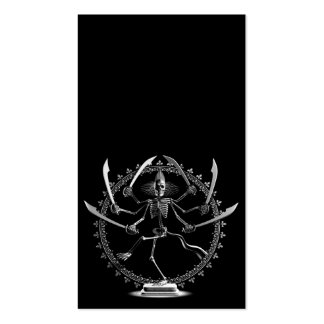 Skeleton Goddess Pack Of Standard Business Cards