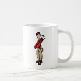 Skeleton Golfer Coffee Mug
