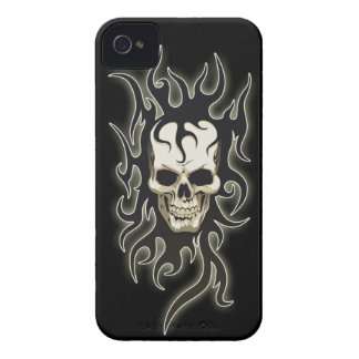 Skeleton Gothic iPhone 4/4S Case-Mate Barely There