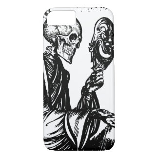 Skeleton Grim Reaper With A Mask iPhone 7 Case