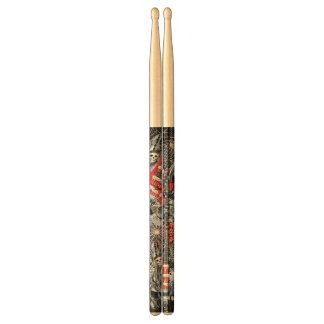 Skeleton Guitar Printed Drumsticks, Drummer Gift Drumsticks