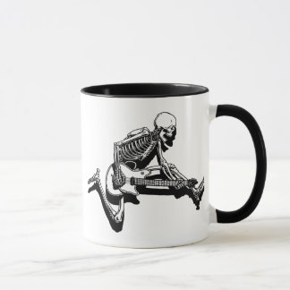 Skeleton Guitarist Jump