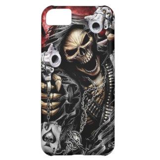 Skeleton & Guns iPhone 5C Case