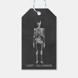Skeleton Halloween Gift Tags