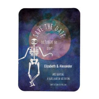 Skeleton/ Halloween Wedding /Save the Date Magnet