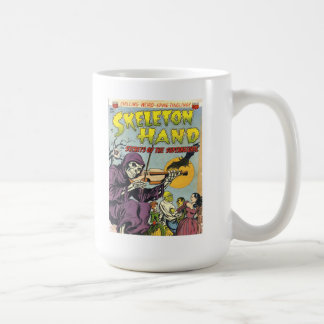 SKELETON HAND Cool Vintage Comic Book Cover Art Mugs