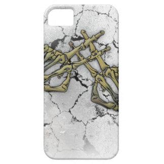 Skeleton Hand Horror Hashtag iPhone 5 Cases