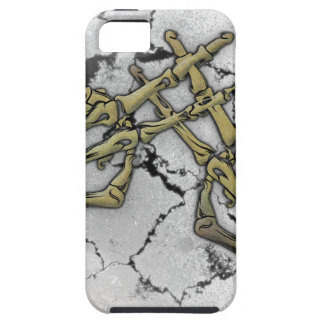 Skeleton Hand Horror Hashtag iPhone 5 Cover