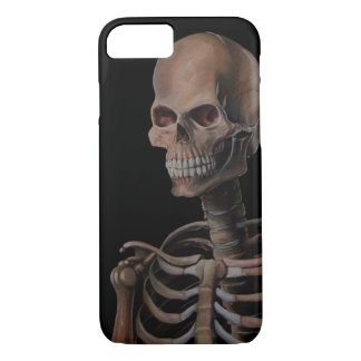Skeleton Hand Painted iPhone 7 Case