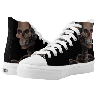 Skeleton Hand Painted Printed Shoes
