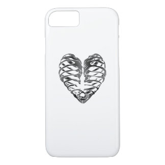 Skeleton Heart Halloween Funny Gifts iPhone 8/7 Case