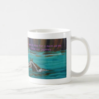 Skeleton Horse Fantasy Art Coffee Mug