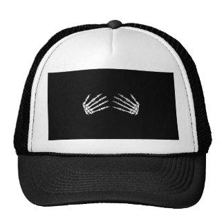 SKELETON HUG COSTUME TRUCKER HAT