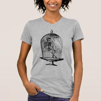 Skeleton in a Birdcage T-Shirt