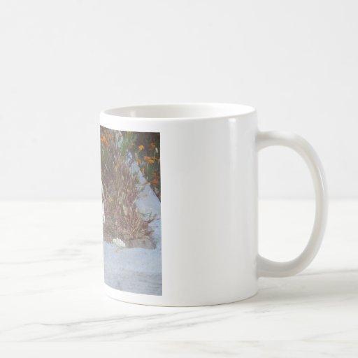Skeleton in Marigolds Coffee Mugs