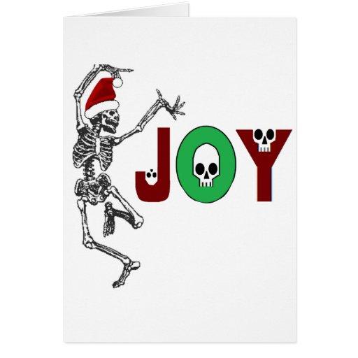 Skeleton Joy Cards