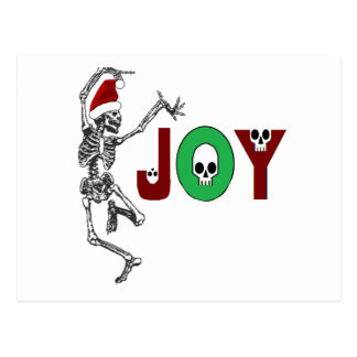 Skeleton Joy Post Card