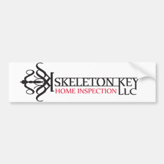 Skeleton Key Bumper Sticker