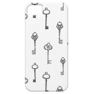 Skeleton Key Pattern iPhone 5 Cover