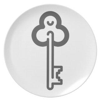 Skeleton Key Plate