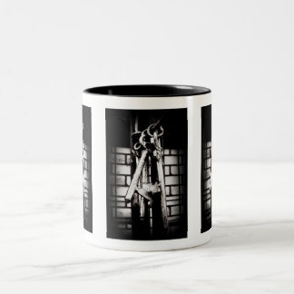 Skeleton Keys and Brick Wall Coffee Mugs