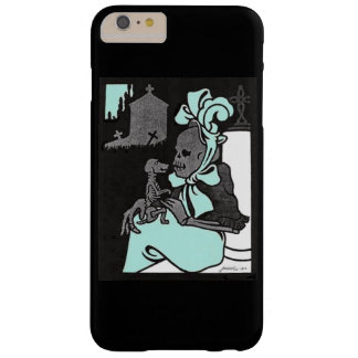 Skeleton Lady and Her Dog Barely There iPhone 6 Plus Case