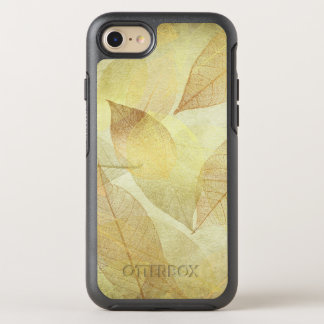 Skeleton Leaves Gold & Bronze OtterBox Symmetry iPhone 7 Case