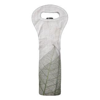 Skeleton leaves wine bag