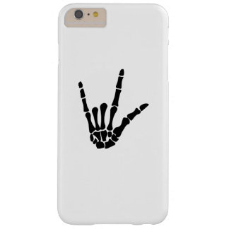 Skeleton Love Hand Halloween Funny Gift Barely There iPhone 6 Plus Case
