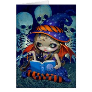 """""""Skeleton Magic"""" Greeting Card"""