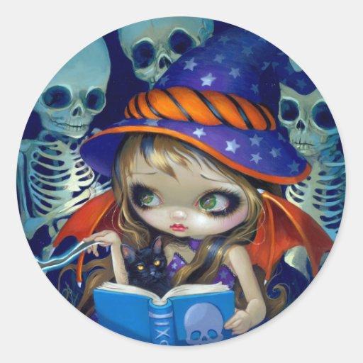 """Skeleton Magic"" Sticker"