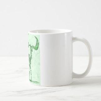 skeleton moose coffee mug