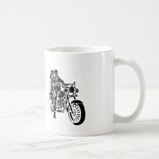 Skeleton Motorcycle Couple Coffee Mug