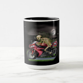 Skeleton Motorcycle items Mug