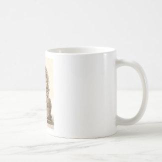 skeleton basic white mug