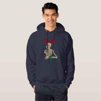 skeleton nightmare christmas mens hoody sweatshirt