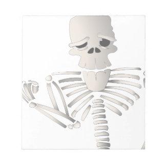 Skeleton Notepad