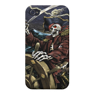 Skeleton Pirate iPhone 4 Case