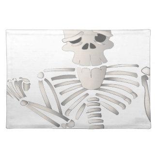 Skeleton Placemat